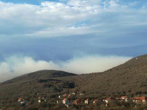 Požar blizu Ančića