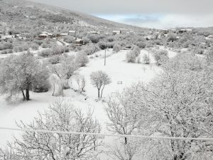 drugi snig u siječnju 2017.