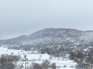 Prvi snig u 2017.