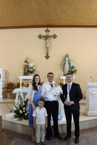 Krštenje Luke Vujevića