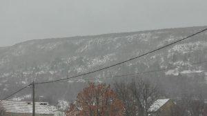 Snig u ožujku 2018.