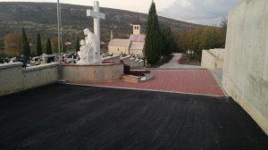Novo groblje - završni radovi