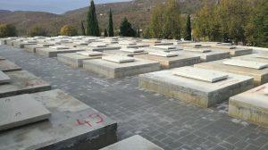 Novo groblje jesen 2018.