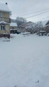Dobranje snig sijecanj 2019