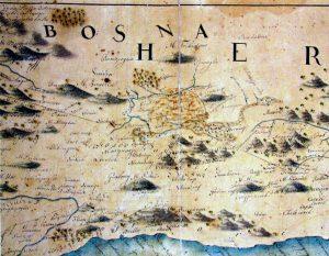Cantelli map - Imotska krajina-18st
