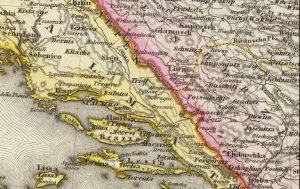 Europe Turkey 1860 Dobranje