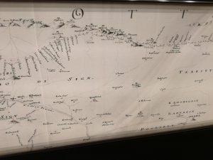 Karta vojno-sanitarnog kordona na mletacko-osmanskoj granici - Melchiori-1731