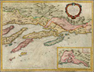 Nouvelle carte de la partie orientale de Dalmatie-Santini2-1780