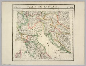Partie de l' Italie-Vandermaelen-1827