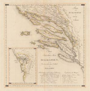 Partie de la Dalmatie du Sud Est avec l'Albanie - Kipferling-1803_g
