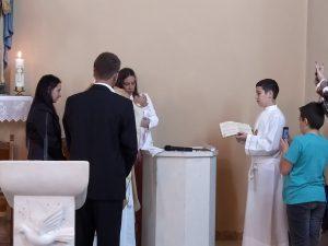Krštenje Zorice Lare