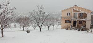 Snig u sječnju 2021.